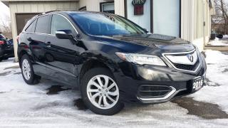 Used 2016 Acura RDX 6-Spd AT AWD w/ Technology Package -LEATHER! NAV! BACK-UP CAM! BSM! for sale in Kitchener, ON
