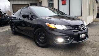 Used 2014 Honda Civic Si Coupe 6-Speed MT - BACK-UP/BLIND-SPOT CAM! SUNROOF! ACCIDENT FREE! for sale in Kitchener, ON
