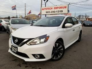 Used 2016 Nissan Sentra SR Prem Pkg Navigation/Leather/Sunroof for sale in Mississauga, ON