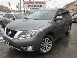 Used 2016 Nissan Pathfinder AWD 7-Passenger/Bluetooth/All Power&GPS* for sale in Mississauga, ON