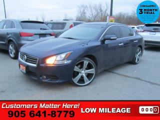 Used 2012 Nissan Maxima 3.5 SV  LEATH ROOF CAM P/SEAT HS for sale in St. Catharines, ON