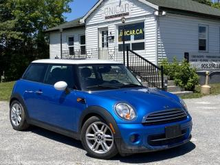 Used 2012 MINI Cooper Hardtop 1 Owner No Accidents Pano Bluetooth Heated Leather Seats for sale in Sutton, ON