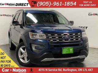 Used 2016 Ford Explorer XLT| 4X4| LEATHER| BACK UP CAMERA & SENSORS| for sale in Burlington, ON