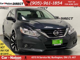 Used 2018 Nissan Altima SV| SUNROOF| BACK UP CAM| HEATED STEERING WHEEL| for sale in Burlington, ON