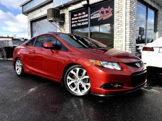 Used 2012 Honda Civic 2 portes, boîte manuelle, Si for sale in Longueuil, QC