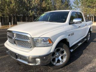 Used 2016 RAM 1500 LARAMIE CREW CAB 4X4 for sale in Cayuga, ON