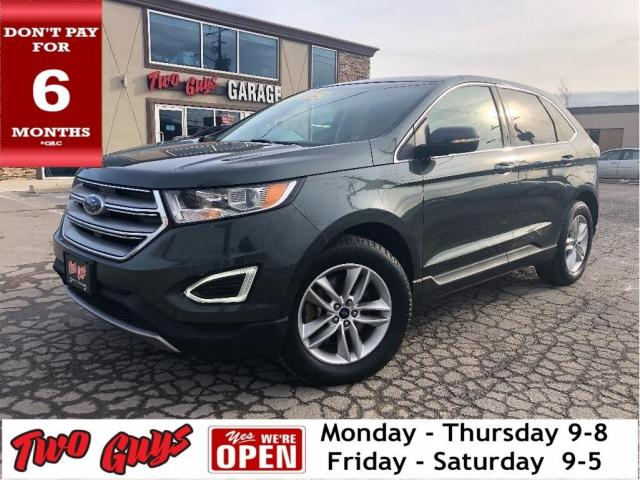 2015 Ford Edge SEL AWD | Leather | Panoroof | Nav | 2.0L Turbo