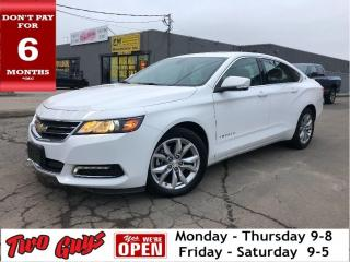 Used 2019 Chevrolet Impala 1LT | Panoroof | Leather | Htd Seats | Alloys for sale in St Catharines, ON