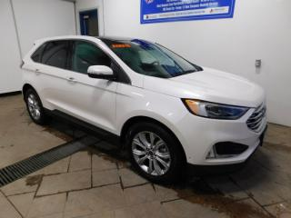 Used 2019 Ford Edge Titanium LEATHER NAVI SUNROOF AWD for sale in Listowel, ON