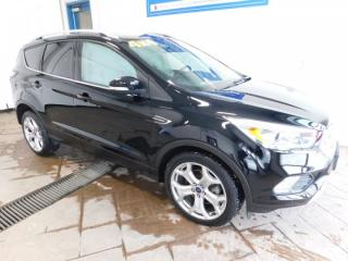 Used 2017 Ford Escape Titanium LEATHER NAVI SUNROOF for sale in Listowel, ON