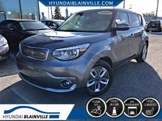 Used 2017 Kia Soul EV EV LUXURY TOIT PANO, CUIR, NAVIGATION, C for sale in Blainville, QC