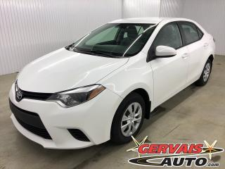 Used 2015 Toyota Corolla CE A/C *Bas Kilométrage* for sale in Shawinigan, QC