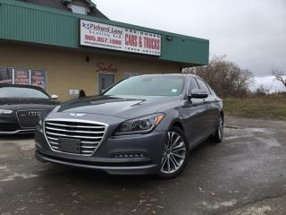 Used 2015 Hyundai Genesis 3.8 Luxury NAVI|SUNROOF|REVRESE CAMERA| LOADED| CERTIFIED for sale in Bolton, ON