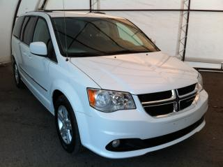 Used 2017 Dodge Grand Caravan Crew POWER DOOR GROUP, LEATHER SEATING, REAR CLIMATE for sale in Ottawa, ON