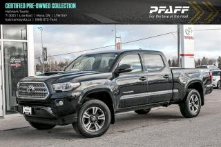 Used 2017 Toyota Tacoma 4x4 Double Cab V6 SR5 6A for sale in Orangeville, ON