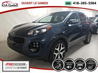 Used 2017 Kia Sportage SX* TURBO* AWD* GPS* TOIT PANO* CUIR* for sale in Québec, QC