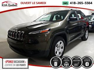 Used 2016 Jeep Cherokee SPORT* 4X4* SIEGES CHAUFFANTS* for sale in Québec, QC