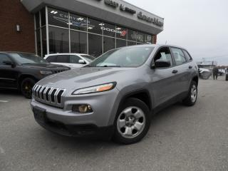 Used 2015 Jeep Cherokee Sport REMOTE STARTER/REAR CAMERA for sale in Concord, ON
