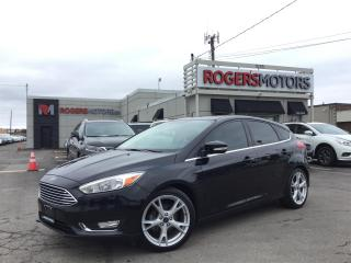Used 2015 Ford Focus HATCH - 5SPD - TITANIUM - NAVI - SUNROOF for sale in Oakville, ON