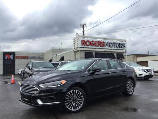Used 2018 Ford Fusion SE AWD - NAVI - SUNROOF - LEATHER - ECOBOOST for sale in Oakville, ON
