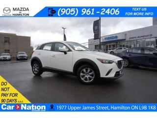 Used 2017 Mazda CX-3 GX | REAR CAM | BLUETOOTH | CD PLAYER | AWD for sale in Hamilton, ON