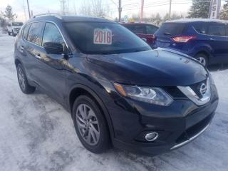 Used 2016 Nissan Rogue Sl,awd,toit pano,cuir,certifiÉ for sale in Mascouche, QC