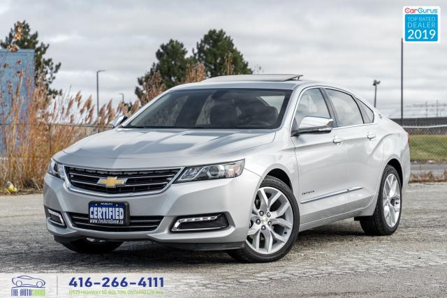 2019 Chevrolet Impala Premier Navi^Leather^Sunroof CleanCarfax Certified