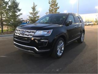 New 2019 Ford Explorer Limited 4WD for sale in Fort Saskatchewan, AB