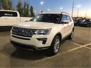 Used 2018 Ford Explorer Limited LIMITED, MOONROOF, 20'S, TOW PKG, ADAPT CRUISE for sale in Fort Saskatchewan, AB