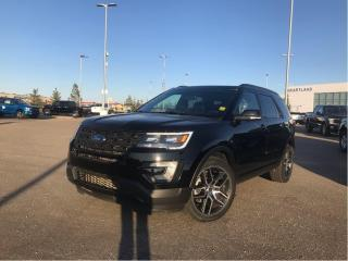 Used 2017 Ford Explorer Sport SPORT, MOONROOF, BUCKETS, ADAPT CRUISE, SYNC 3 for sale in Fort Saskatchewan, AB