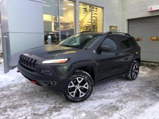 Used 2015 Jeep Cherokee Trailhawk 4 portes 4 roues motrices for sale in Ste-Agathe-des-Monts, QC