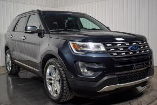 Used 2017 Ford Explorer LIMITED AWD CUIR TOIT PANO NAV for sale in Île-Perrot, QC