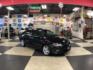 Used 2016 Volkswagen Jetta Sedan 1.8 TSI HIGHLINE AUT0 NAVI LEATHER SUNROOF CAMERA 95K for sale in North York, ON