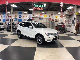 Used 2016 BMW X3 DRIVE 28i NAVI PREMIUM PKG AUTO LEATHER PANO/ROOF for sale in North York, ON