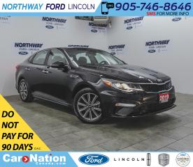 Used 2019 Kia Optima LX+ | HTD SEATS+WHEEL | PUSH START | BACKUP CAM | for sale in Brantford, ON