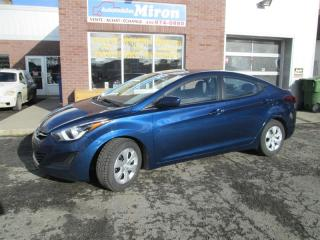 Used 2016 Hyundai Elantra 4dr Sdn Man L for sale in St-Eustache, QC