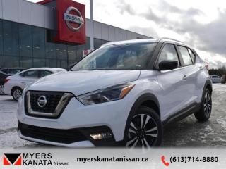 New 2019 Nissan Kicks SR FWD  -  Heated Seats -  Fog Lights - $176 B/W for sale in Kanata, ON