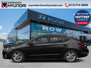 New 2020 Hyundai Elantra Essential IVT  - Fuel Efficient - $71.43 /Wk for sale in Nepean, ON