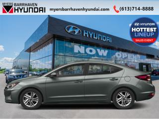 New 2020 Hyundai Elantra Essential IVT  - Fuel Efficient - $70.87 /Wk for sale in Nepean, ON