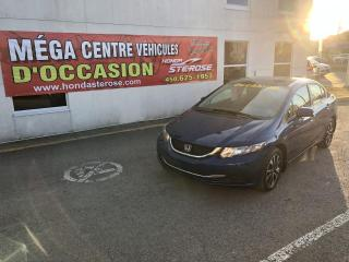 Used 2015 Honda Civic EX AUTOMATIQUE 29 548 KM for sale in Laval, QC