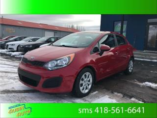 Used 2015 Kia Rio Lx+* a/c, bluetooth* for sale in St-Agapit, QC