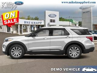 Used 2020 Ford Explorer Platinum  - Leather Seats -  Heated Seats for sale in Welland, ON