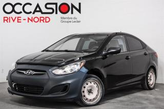 Used 2013 Hyundai Accent Automatique GL GAR. 1AN for sale in Boisbriand, QC