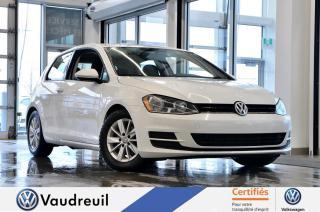 Used 2017 Volkswagen Golf 1.8 TSI Trendline * CAM RECUL * 15 PO for sale in Vaudreuil-Dorion, QC