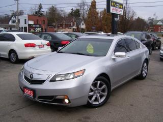 Used 2013 Acura TL w/Tech Pkg,FULLY LOADED,NAV,LEATHER,BLUETOOTH,FOGS for sale in Kitchener, ON