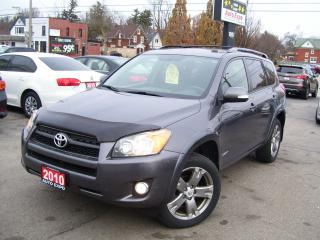 Used 2010 Toyota RAV4 Sport,4WD,LEATHER,SUNROOF,ONE OWNER,FOGS,CERTIFIED for sale in Kitchener, ON