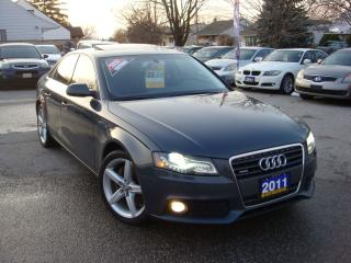 Used 2011 Audi A4 2.0T PREMIUM for sale in Ajax, ON