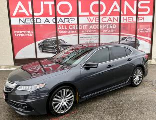 Used 2016 Acura TLX SH-AWD-ALL CREDIT ACCEPTED for sale in Scarborough, ON