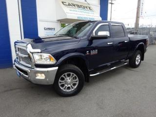 Used 2017 RAM 3500 Laramie Crew 4x4, Diesel, Nav, Sunroof, One Owner for sale in Langley, BC