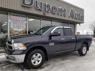 Used 2015 RAM 1500 Cabine quad 4RM, 140,5 po SLT for sale in Alma, QC